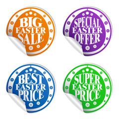 Best Easter sale , colorful stickers set