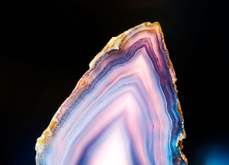 Slice of agate