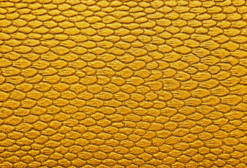 Wall Mural - Snakeskin texture leather, can be used as a background