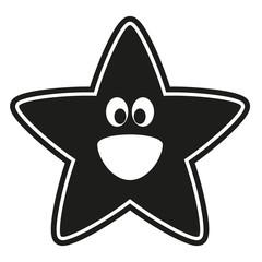Vector star stencil to the nursery