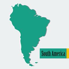 Vector South America
