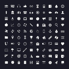 100 vector universal icons