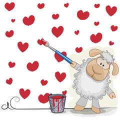 Artist Sheep