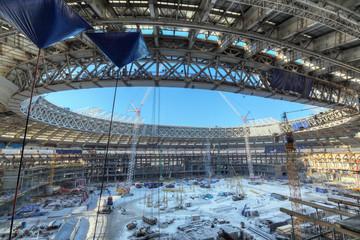 Reconstruction Luzhniki Stadium, Moscow