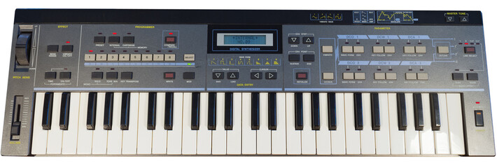 Vintage digital synthesizer