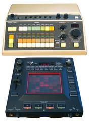 Analog drum machine & digital FX processor