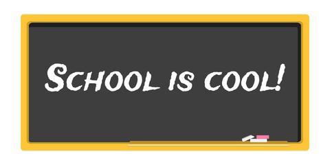 blackboard stationery school is cool