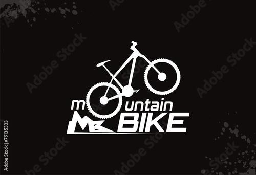 quotmountain bike logo vectorquot stock image and royaltyfree