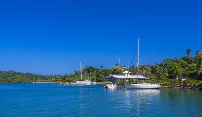 Hafen von Port Antonio, Jamaika, Antillen, Karibik