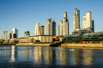 Puerto Madero in Buenos Aires Argentinien