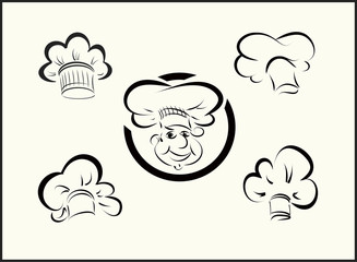 vector icons chefs