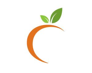 peach silhoette