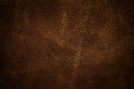 Leather texture closeup