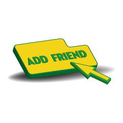 Add friend button