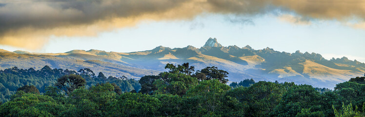 mount Kenya Wall mural