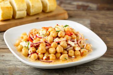 Kichererbsensalat - chick pea salad