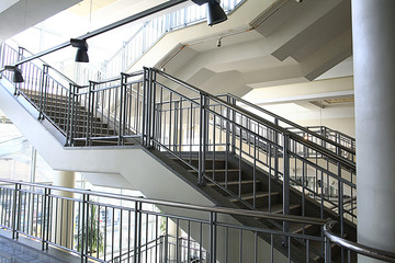 Foto op Plexiglas Trappen Stairs, stairs in a modern building