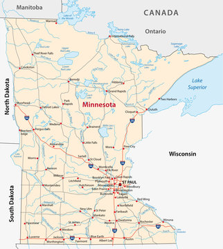 minnesota road map
