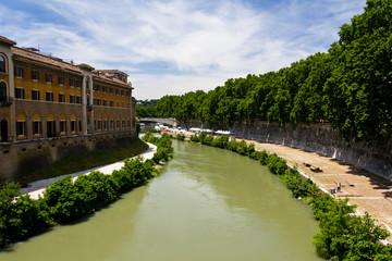 Roma - Paesaggio urbano - Tevere