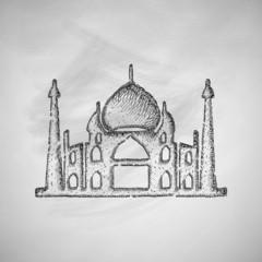 arabic palace icon