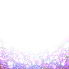 Lights On pink Background For Your Design.