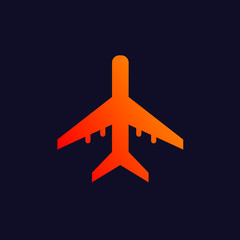 Airplane background