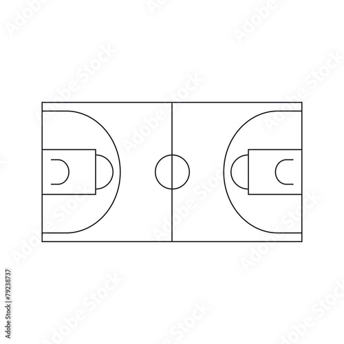 Campo da Basket Stock image and royalty-free vector files on ...