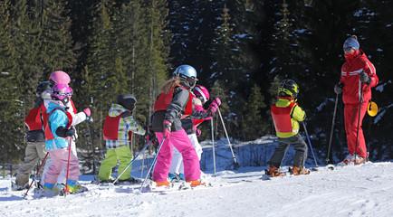 Cours de ski-9392