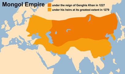 Mongol Empire Genghis Khan