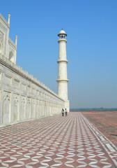 Taj Mahal dynamic perspective
