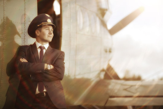 pilot vintage aircraft