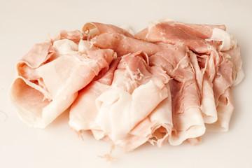 Italian ham slices