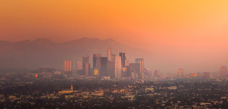 Downtown Los Angeles skyline