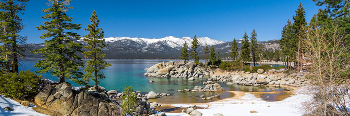 Wall Mural - Lake Tahoe panorama