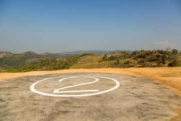 Helicopter pad