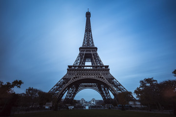 Eiffel tower in Paris,France