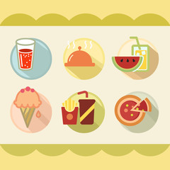 Cute Food and drink icon great for any use. Vector EPS10.