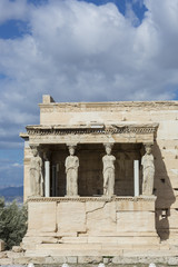The Caryatids Porch of the Erechtheion,Athens, Greece
