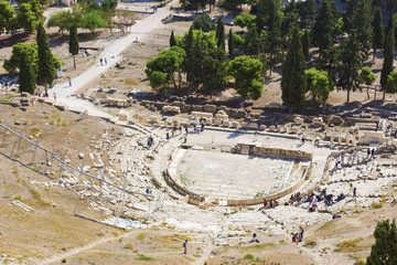 Fototapete - The Theatre of Dionysus Eleuthereus in Athens,Greece