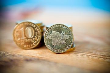 10 Russian rubles