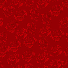Floral seamless background for design