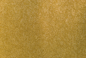Gold chinese pattern background