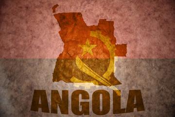 angola vintage map