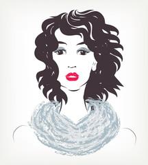 Background - Woman fashion