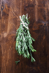 Rosemary on the table