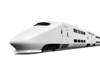 Bullet Train Isolated
