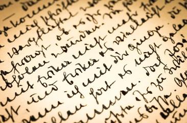 Alter Brief - Konzept