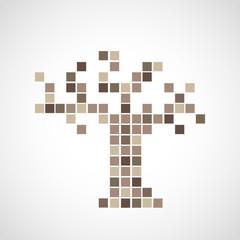 arbre pixel