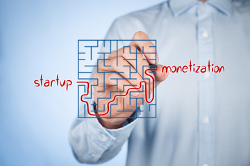 From startup to monetization