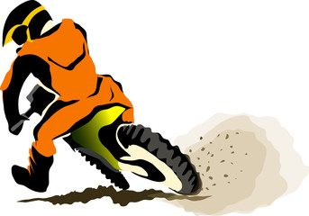Motorcucle off road